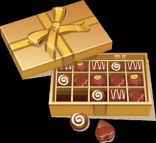 チョコレートイラスト