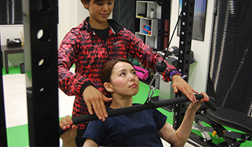 DIETA 目黒店 セッション中の写真