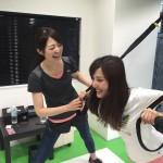 大浦育子さんのブログに登場