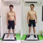 有村昆さん、二ヶ月でマイナス7kg。